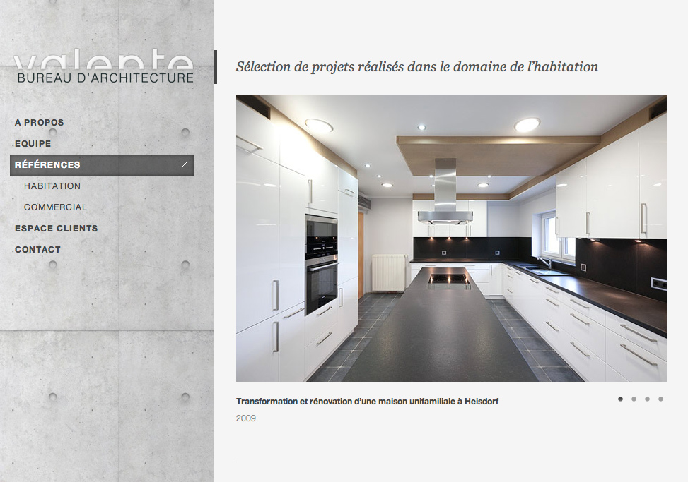 Bureau Architecture Web : Valente u bureau d architecture youtag graphic design